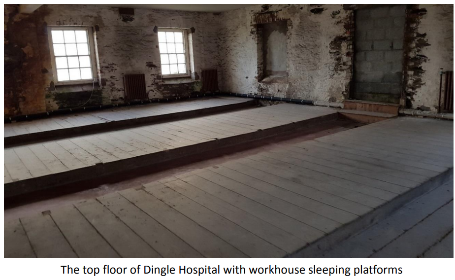 Dingle Hospital & Workhouse History - Dingle Workhouse